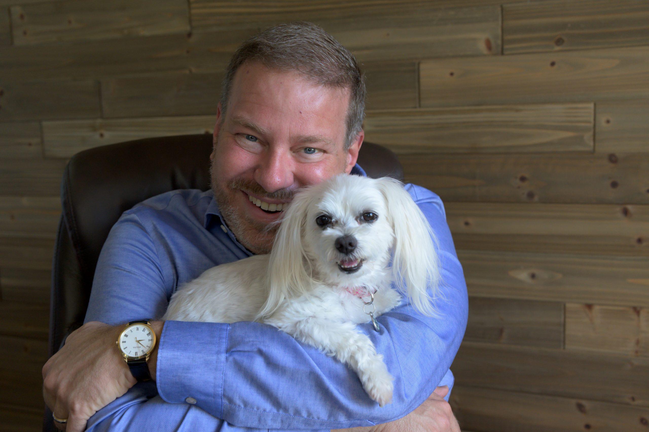 Jim with Kanga