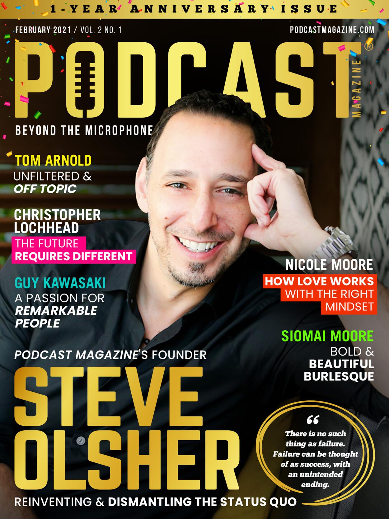 Steve Olsher | February 2021 Cover