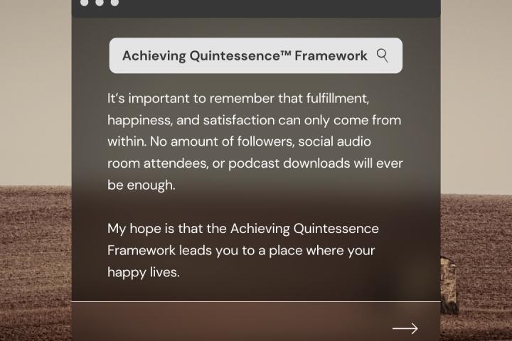 Achieving Quintessence