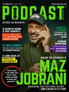 Maz Jobrani September 2021 Cover